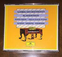 3CD Beethoven Piano Trios Kempff Szeryng Fournier DG Germany