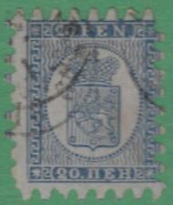 Finland #9 used 20p Arms type 3 1866 cv $57.50