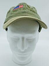USA Field Hockey Baseball Hat Cap Faded Green USA Embroidery Unisex