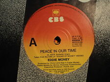 "Eddie Money ""Peace In Our Time"" Rare CBS Oz 7"""