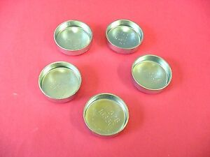 "Fits GM 5pk 1-5/8"" Freeze Expansion Plugs Zinc Plated Steel Engine Cylinder NOS"