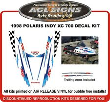 1998 POLARIS INDY XC 700 HOOD DECALS  SHROUD  reproductions
