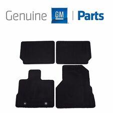 GMC Terrain Chevrolet Equinox Black Front & Rear Carpet Mats GM Genuine OEM