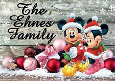 Disney Mickey Mouse Christmas Family Cruise Stateroom Door Magnet