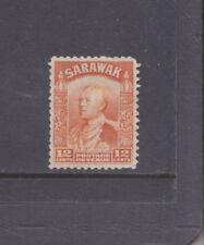 SARAWAK-1934-12c ORANGE-SG 114a-FINE USED-$4.00-freepost