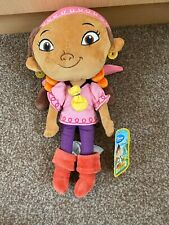 Disney Izzy From Jake And The Neverland Pirates Soft Toy