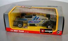 Burago 1/24 Indy Team - 6122 - Die-Cast Racing Car Scale Modell Auto NEU OVP
