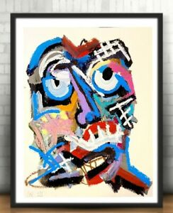 EXPRESSIONIST ABSTRACT ART LOUD TONY CONTEMPORARY MODERNISM ORIGINAL PAINTING NR