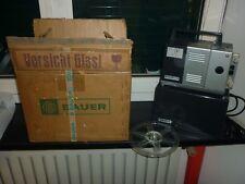 Proiettore Bauer T1s Super vintage film pellicole bobine omaggio