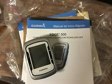 Garmin Edge 500 GPS Cycling Computer. Silver
