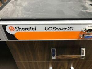 Complete Shoretel Server Phone System UC 20 ShoreGear  with 5-IP480 desk phones