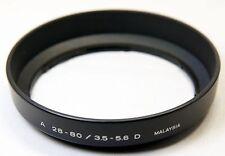 Maxxum lens hood for A 28-80mm f3.5-5.6 D Maxxum model with 55mm rim
