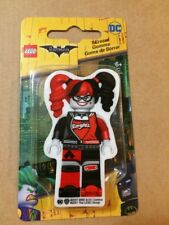 "4 Harley Quinn 2.75"" Lego Character Shape Erasers Batman Movie Dc Comics Santoki"