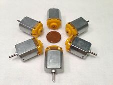 6 pieces 130 DC 6V Hobby Mini Motor 12500 RPM with Varistor for Digital Products