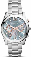 Fossil Perfect Boyfriend Gray Mother of Pearl Dial Ladies Watch  ES3880