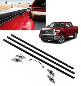 TAC Bed Rails Compatible with 1988-1998 Chevy Silverado//GMC Sierra Short Bed 304 Stainless Steel Truck Side Rails