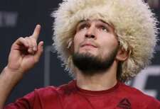 Khabib Nurmagomedov SHEEP HAT, FUR, UFC
