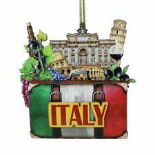 3D Italy Christmas Ornament Coliseum, Pisa, Trevi, Italian Christmas Ornaments