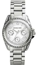 Michael Kors Woman's MK5612 Mini 'Blair' Chronograph Stainless Steel Watch