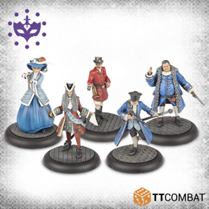 GX-PAT-004 TTCombat - Carnevale - Foreign Delegates - (Streets of Venice)