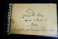 France Stamps Maritime Naval Base Cherbourg Poste Navale 9/44