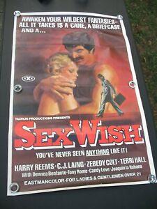 Sex Wish - 1976 - Movie Poster