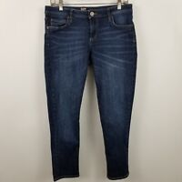 Kut From THe Kloth Katy Slim Boyfriend Womens Dark Wash Blue Jeans Size 8