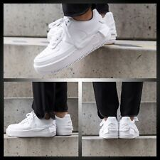 Nike AF1 Air Force 1'07 se 3D Swoosh Prune Rose en Cuir