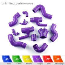 For Audi S4 RS4 Biturbo A6 B5 2.7L Bi-Turbo 1997-2001 Purple Silicone Boost Hose