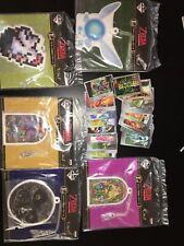 Rare Legend Of Zelda Ocarina Of Time Cards + Lottery Prize Keychain Figures Set