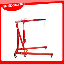 ** VIC PICKUP ** New 2 TONNE FOLDING HYDRAULIC ENGINE WORKSHOP CRANE HOIST LIFT