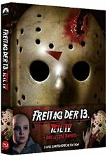 Blu Ray/DVD Freitag der 13. Teil 4 Uncut Mediabook - NEU - wattiert