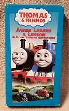 THOMAS & FRIENDS James Learns a Lesson TANK ENGINE TRAIN VHS Video Ringo Starr