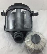 Scott/SEA Domestic Preparedness Open Box Gas Mask & 40mm NATO NBC Filter 12/2021