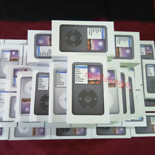New Brand Apple iPod Classic 7th Generation 120GB Black/Silver MP3 Player-Sealed