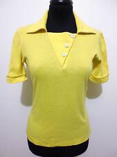LUISA SPAGNOLI VINTAGE '70 Polo Maglietta Donna Woman Pole T-Shirt Sz.XS - 38