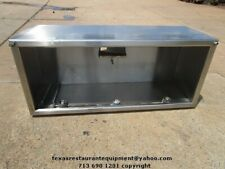 "Commercial Vent Hood 84"" x 36"" x 30"""