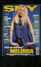 Sky Magazine April 1998 - Melinda Messenger