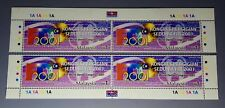 2001 Malaysia FDI World Dental Congress 4v Stamps (POS tabs & all 4 corners)