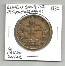 So Called Dollar 1980 Unc Sesquicentennial of Clinton Indiana