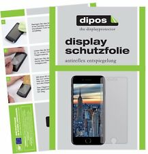 6x Apple iPhone 8 Plus Protector de Pantalla protectores mate dipos