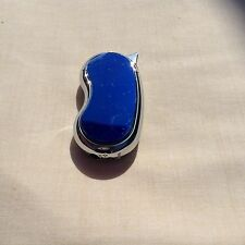 Hadson Lighter - Beautiful Bendy Blue Ice/Chrome Polished Lighter - Ideal Gift