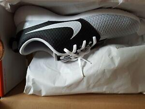 Nike Golf Roshe G Shoes Men's Size: 11UK Grey White Black Mesh BNIB