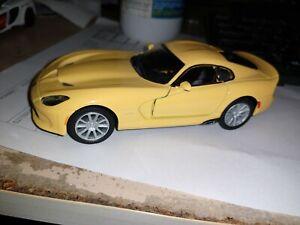 2013 SRT Viper GTS 1:36 die-cast model Kinsmart