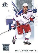 (HCW) 2016-17 Upper Deck SP Authentic #6 Mika Zibanejad NY Rangers