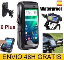 Funda Soporte para bicicleta moto móvil telefono Iphone 6 Plus Impermeable