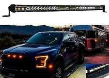 "20"" Ultra Slim High Output Osram LED Light Bar Single Row Combo Beam Offroad 12v"