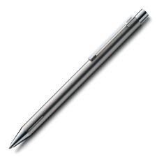Lamy Econ Ballpoint Pen - Matte Stainless Steel - L240E New Pen in New Lamy Box