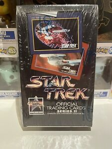 Star Trek Official Trading Cards New Sealed 1991 25th Anniversary Set