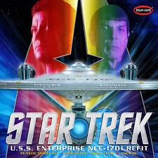Polar Lights 949 Star Trek USS Enterprise Refit 1/350 Scale Plastic Model Kit